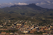 Mesas Photo Prints - Overview Of Town Of Trinidad Print by Phil Schermeister