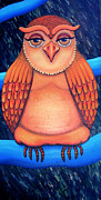 Barbara Stirrup - Owl in Oil