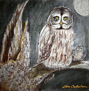 Elena  Constantinescu - Owl Mother