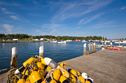 New England Village Prints - Owls Head Harbor Print by Kevin Kratka