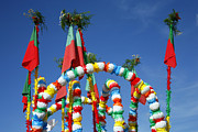 Gaspar Avila - Oxen cart decorations