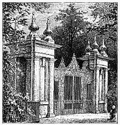 Garden Gate Prints - Oxford: Garden Gate Print by Granger