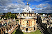 University City Prints - Oxford library and spires Print by Paul Cowan