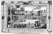 Martyrs Framed Prints - Oxford Martyrs, 1556 Framed Print by Granger