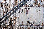 Rust Paintings - ...oy by Chris Steinken