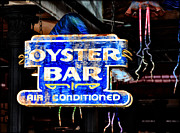 Oyster Art - Oyster Bar Sign by Bill Cannon