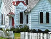 Glenna McRae - Oysterville Historic Church 1892c. Long Beach Penninsula