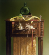 Still Life Pastels Prints - Oz Revisited Print by Barbara Groff