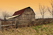 Ozark Barn 1 Print by Marty Koch