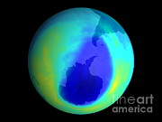 Layer Prints - Ozone Hole, September 2004 Print by NASA / Science Source