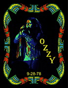 Concert Digital Art - Ozzy with Sabbath in Spokane  by Ben Upham