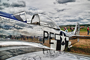 P51 Photo Posters - P-51 Mustang 3832 Poster by Guy Whiteley