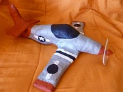 Prop Originals - P-51 Mustang by Paula  Smith