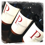 Napa Valley Photos - P for Provenance by Penelope Moore