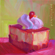 Gourmet Art Paintings - P. S. I Love You by Penelope Moore