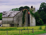 Amish Photographs Art - PA Barn by Dottie Gillespie