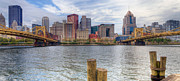 Worhol Prints - PA0001 Pittsburgh 1 Print by Steve Sturgill