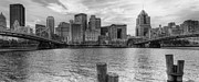Worhol Prints - PA0002 Pittsburgh 2 Print by Steve Sturgill