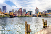 Worhol Prints - PA0003 Pittsburgh 3 Print by Steve Sturgill