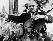 Pablo Framed Prints - Pablo Casals (1876-1973) Framed Print by Granger