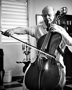 Pablo Photo Posters - Pablo Casals Celebrates His 85th Poster by Everett