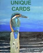Kingfisher Mixed Media - Pacific Fishing by Eric Kempson