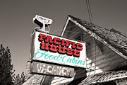 Photoshop And Lightroom Manipulations - Pacific House by Mitch Shindelbower