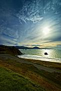 Port Orford Framed Prints - Pacific Meets Port Orford Framed Print by Dale Stillman
