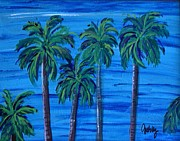 Reward Prints - Pacific Palms Print by Paintings by Gretzky
