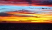 Pacific Sunset 5 Print by Laura Porumb