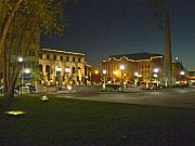 Asheville Photos - Pack Square In Asheville by Utopia Concepts