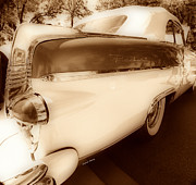 Garage Wall Art Prints - Packard 2 Print by Cheryl Young