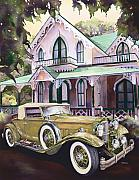 Mike Hill Art - Packard Golf and Greens by Mike Hill