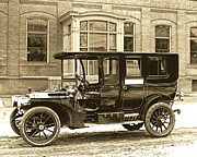 Packard Motor Car Company Automobile 1910 Print by Padre Art