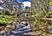 Packhorse Prints - Packhorse Bridge Arncliffe Print by Trevor Kersley