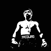 Pacquiao Print by Elvin Dantes