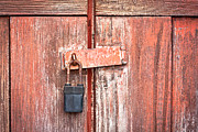 Safeguard Prints - Padlock Print by Tom Gowanlock