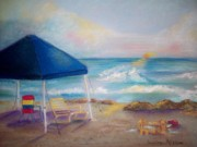 Texas Pastels - Padre Island Paradise by Sandra McClure