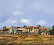 Paesaggio Aperto Print by Guido Borelli