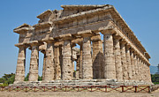 Nike Photo Prints - Paestum Temple Print by Paolo Modena
