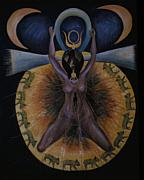Barbara Nesin Art - Pagan Mother Creation Myth by Barbara Nesin