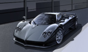 Sportscar Paintings - Pagani Zonda by Carart Matthew