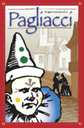 Tragedy Posters - Pagliacci Poster by Joe Barsin