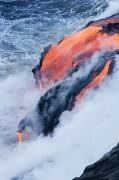 Pour Prints - Pahoehoe Lava Flow Print by Ron Dahlquist - Printscapes