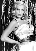 Hand On Hip Acrylic Prints - Paid In Full, Lizabeth Scott, 1950 Acrylic Print by Everett