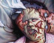 Pain Print by James W Johnson
