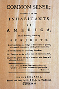 Independance Art - Paine: Common Sense, 1776 by Granger