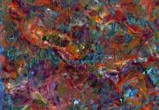 Textured Paintings - Paint number 16 by James W Johnson