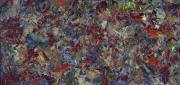 Color Field Paintings - Paint number 21 by James W Johnson