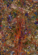 Abstract Posters - Paint Number 25 Poster by James W Johnson